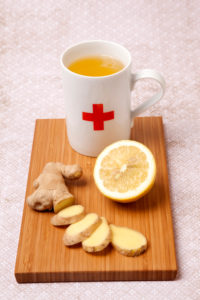 Tea, ginger, the body's defences, ginger tea