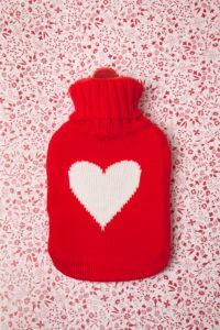 Hot-water bottle, heat, medicine, health