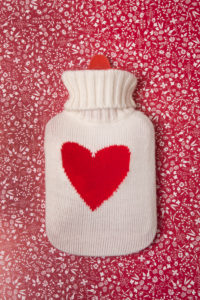 Hot-water bottle, heat, medicine, health