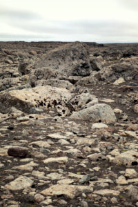 Stones, scree, Iceland, scenery