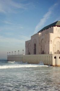 Casablanca, Hassan-II.-Moschee, Architektur, Marokko