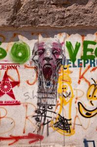 Graffiti, street art, Belgrade, Serbia