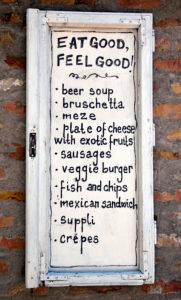 Restaurant, Menu, Housewall, Belgrade, Serbia