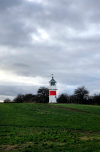 Lighthouse, When, Alsen, Island, Landscape, Denmark