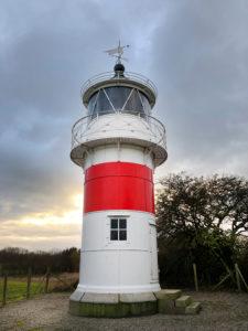 Leuchtturm, Als, Alsen, Insel, Landschaft, Dänemark