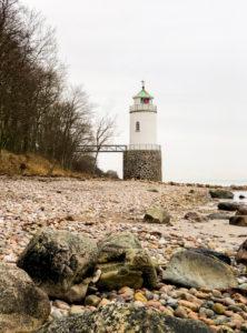 Lighthouse; When; Alsen; Island; Landscape; Denmark