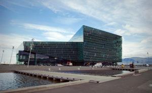 Harbor, Harpa, city, Iceland, Reykjavik