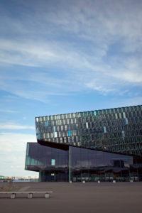 Hafen, Harpa, Stadt, Island, Reykjavik