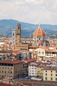 Duomo, houses, panorama, architecture, Florence, Tuscany, Italy