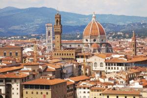 Dom, Häuser, Panorama, Architektur, Florenz, Toskana, Italien