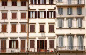 House, apartment building, Florence, Tuscany, Italy, city