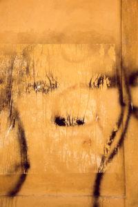 Mauer, Graffiti, Gemälde, Florenz, Toskana, Italien
