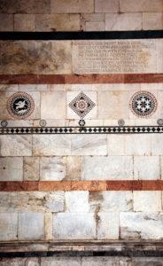 San Martino Cathedral, detail, Lucca, Tuscany, Italy,