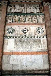 Kathedrale San Martino, Detail, Lucca, Toskana, Italien