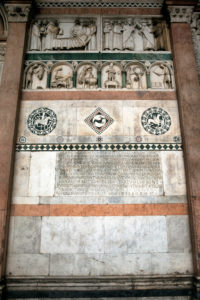San Martino Cathedral, detail, Lucca, Tuscany, Italy
