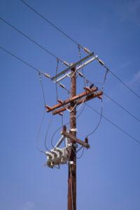 Old-fashioned, electricity, electricity pylon, energy transition, sustainability