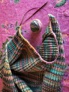 Knitting, wool, knitting, needlework