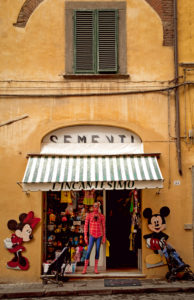 Shop, toys, Lucca, Tuscany, Italy