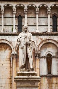 San Michele in Foro, Francesco Burlamacchi, Lucca, Tuscany, Italy