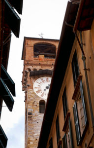 Torre delle Ore, clock tower, Lucca, Tuscany, Italy