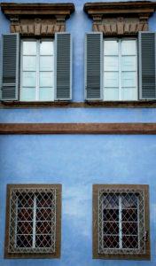 Haus, Fenster, Pisa, Toskana, Italien