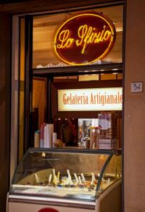 Eisdiele, Geschäft, Pisa, Toskana, Italien