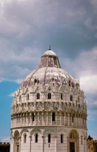 Battistero di San Giovanni, Dom, Pisa, Toskana, Italien
