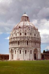 Battistero di San Giovanni, Duomo, Pisa, Tuscany, Italy