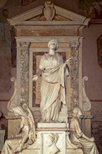 Camposanto Monumentale,  Skulptur, Piazza Dei Miracoli, Pisa, Toskana, Italien