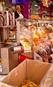 Cookies, market stall, Pisa, Tuscany, Italy