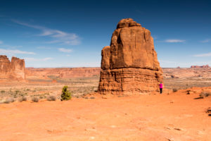 USA, Utah, rock formation in Arches National Park