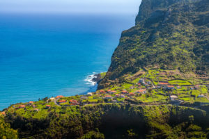 Municipality and landscape of Porto da Cruz, Machico, Madeira