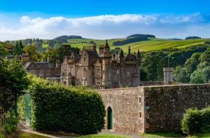 Abbotsford House, residence of the writer Sir Walter Scott, Melrose, Borders District, Scotland, UK