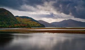 Loch Duich at Eilean Donan Castle, Inverness, Scotland, UK
