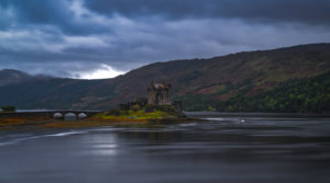 Great Britain, Scotland, Highlands, Eilean Donan Castle on Loch Duich