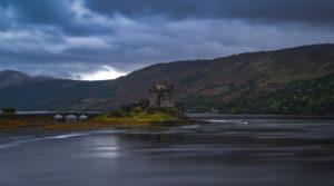 Großbritannien, Schottland, Highlands, Eilean Donan Castle am Loch Duich