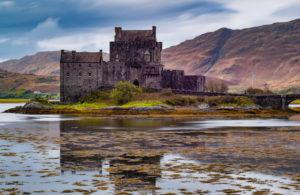 Great Britain, Scotland, Highlands, Eilean Donan Castle on Loch Duich