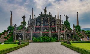 Isola Bella, Renaissance Garten, Lago Maggiore, Stresa, Provinz Verbano-Cusio Ossola, Piemont, Italien