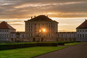 Deutschland, Bayern, München, Schloss Nymphenburg mit Parkanlage