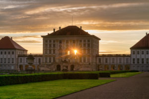 Germany, Bavaria, Munich, Nymphenburg Palace with park