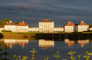 Germany, Bavaria, Munich, Nymphenburg Palace, east facade,