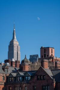 USA, New York City, view of Midtown Manhattan and Empire State Building