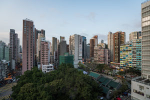 Hong Kong, urban life, densely populated