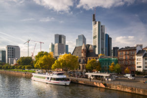 Germany, Frankfurt am Main, cityscape in autumn