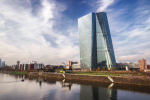 Deutschland, Frankfurt am Main, EZB Gebäude