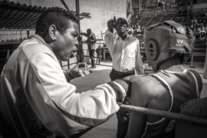 boxing ring, dismissal of the photographer