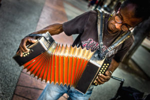Cuba, Havanna, Accordion player