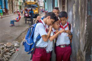 Cuba, Havanna, School's Out