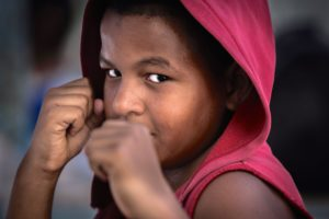 Cuba, Havanna, boy, clenched fists, fight, determination, 'the ultimate Fighter',