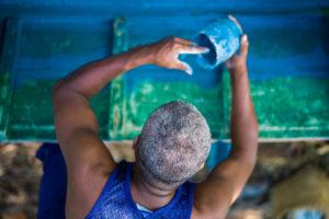 Cuba, Havanna, Boat Painting,